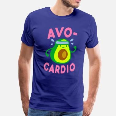 90389db9105 Funny Gym AVOCARDIO - Men s Premium T-Shirt
