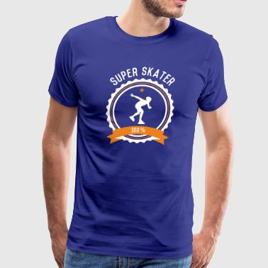 Super Inline Skater - Men's Premium T-Shirt