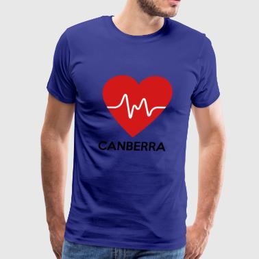 Heart Canberra - Men's Premium T-Shirt