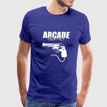 Arcade Gamer - Gaming Design - Men's Premium T-Shirt