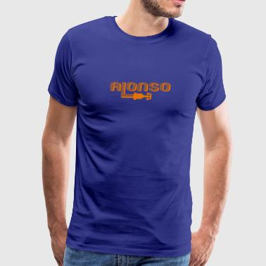 Auto Racing Champion Alonso - Men's Premium T-Shirt