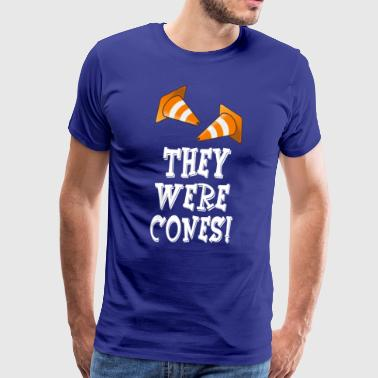 The Wedding Singer Quote - They Were Cones! - Men's Premium T-Shirt