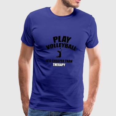 volleyball designs - Men's Premium T-Shirt