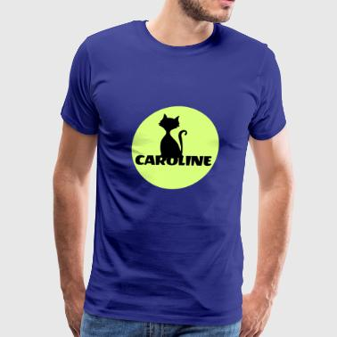 Caroline Caro first name - Men's Premium T-Shirt