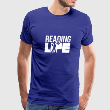 Reading - Reader - Reading Gift - Love Reading - Men's Premium T-Shirt