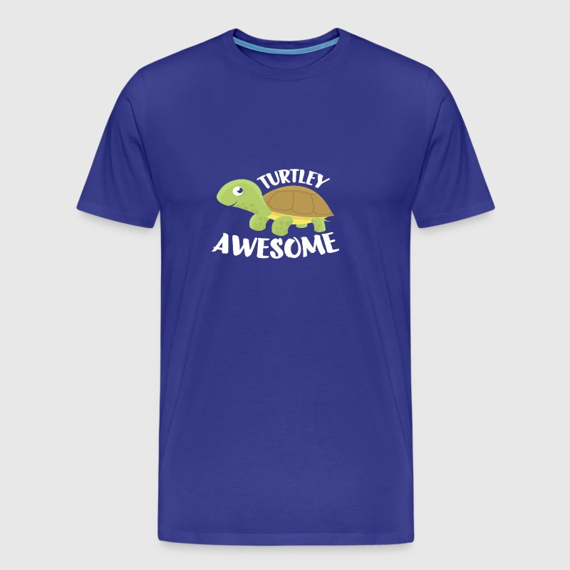 Turtley Awesome Shirt Turtle T shirt - Men's Premium T-Shirt