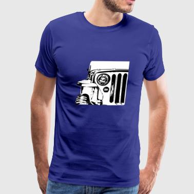 Old jeep - Men's Premium T-Shirt