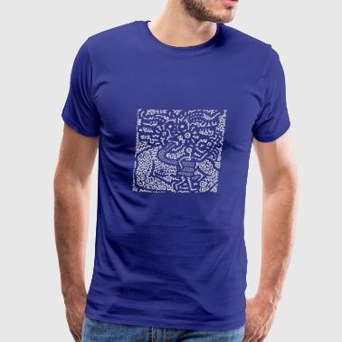 KEITH HARING ART STREET - Men's Premium T-Shirt