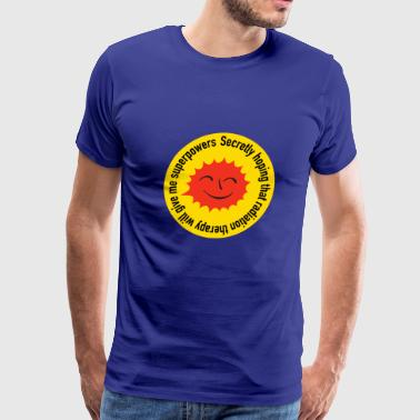 Radiation Superpowers - Men's Premium T-Shirt