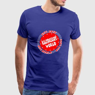 Kaleidoscope World. Embrace everyones Diversity. - Men's Premium T-Shirt