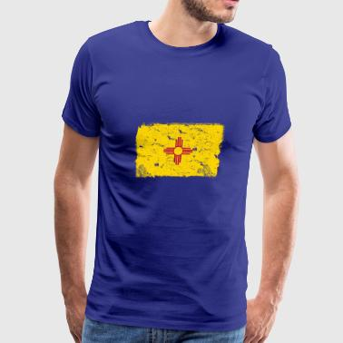 New Mexico State Flag New Mexico Vintage Flag - Men's Premium T-Shirt