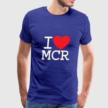 Manchester Bee Love Manchester - Men's Premium T-Shirt