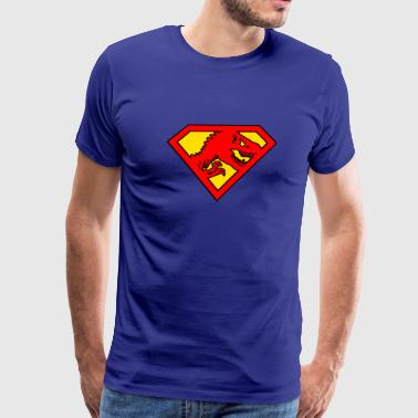 super dinosaur - Men's Premium T-Shirt