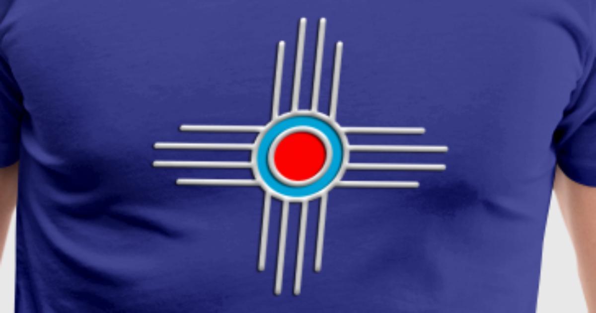 New Mexico State Symbol Zia Sun Symbol T