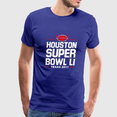 Houston Super Bowl LI texas 2017 - Men's Premium T-Shirt