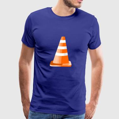 Safety Road Cone - Men's Premium T-Shirt