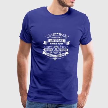 Totally Awesome Since 1981 36th Birthday - Men's Premium T-Shirt