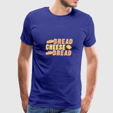 bread cheese bread - Men's Premium T-Shirt