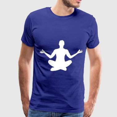 Meditation - Men's Premium T-Shirt