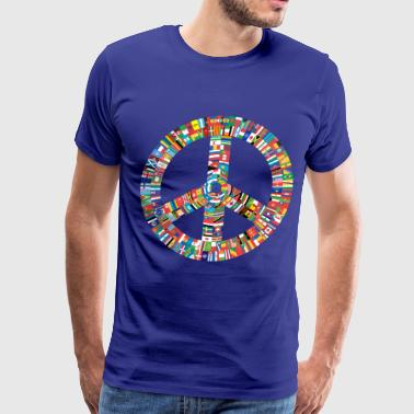 Peace to All Nations - Men's Premium T-Shirt