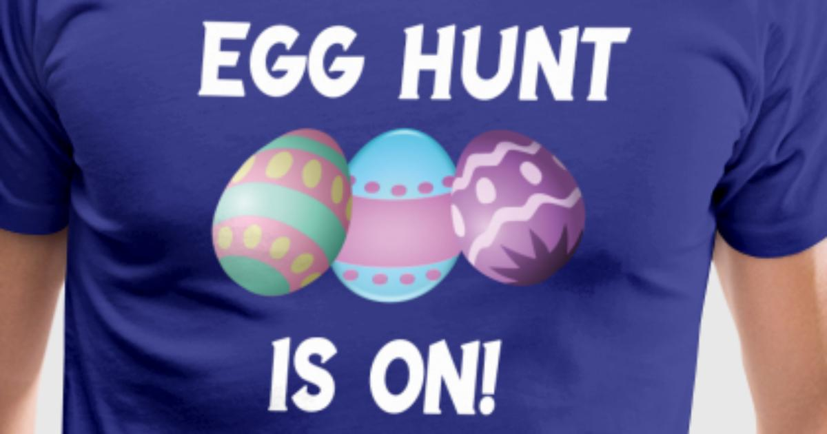 Funny and lovely egg hunt is on easter family gift by spreadshirt negle Images