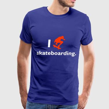 Skateboard - Men's Premium T-Shirt