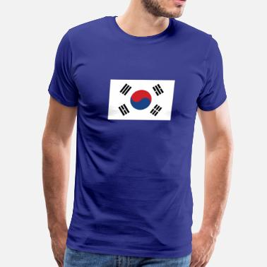 South Korean American Flag Flag of South Korea Cool South Korean Flag - Men's Premium T-Shirt