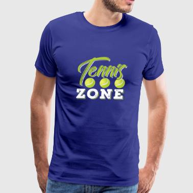 Drop Zone Tennis Zone - Men's Premium T-Shirt