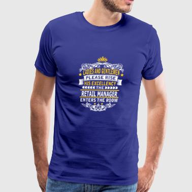 RETAIL MANAGER - Men's Premium T-Shirt