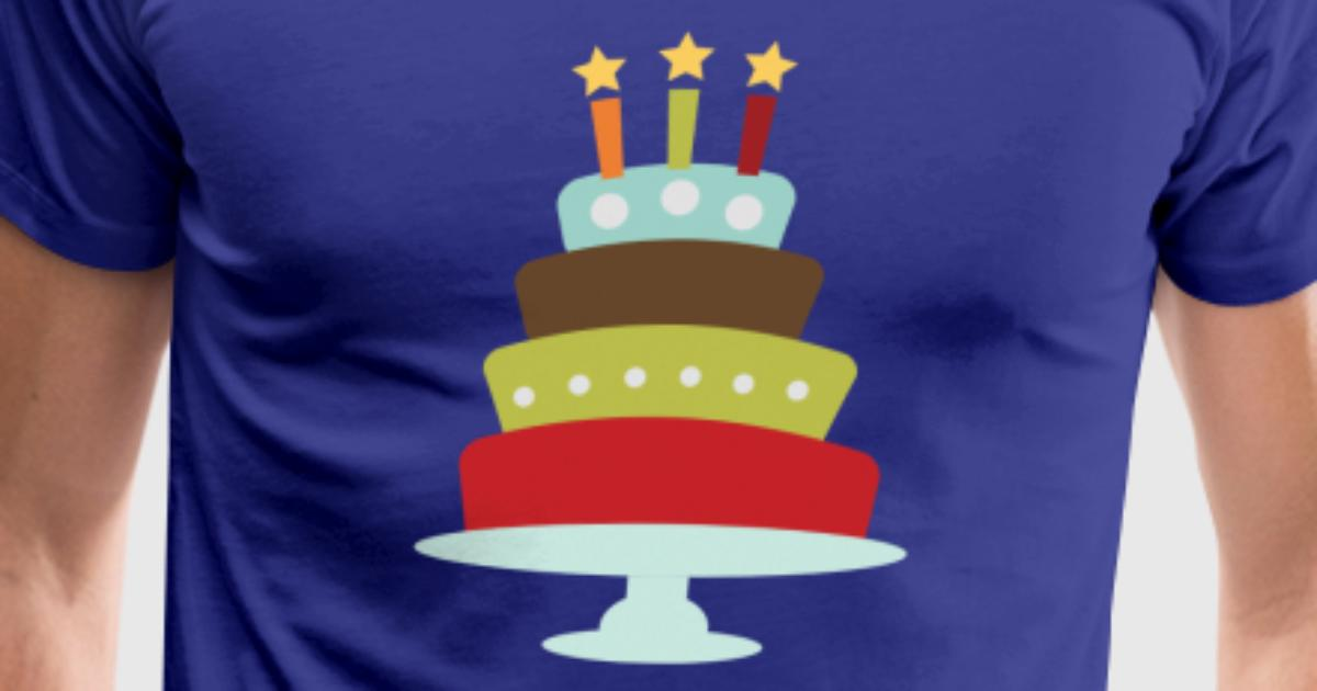 Vintage Birthday Cake By Alexwestshop Spreadshirt