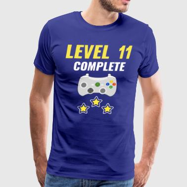 Level 11 Complete - Men's Premium T-Shirt