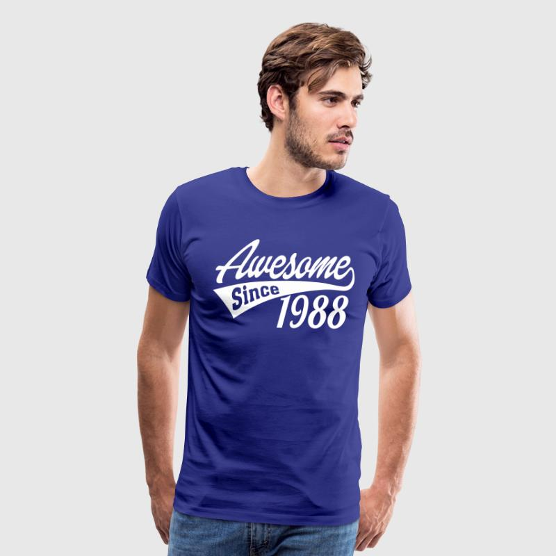 Awesome Since 1988 - Men's Premium T-Shirt