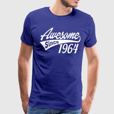 Awesome Since 1964 - Men's Premium T-Shirt