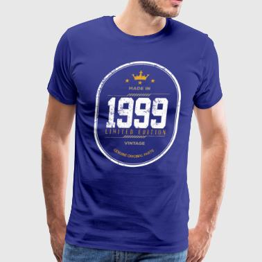 Made In 1999 Limited Edition Vintage - Men's Premium T-Shirt