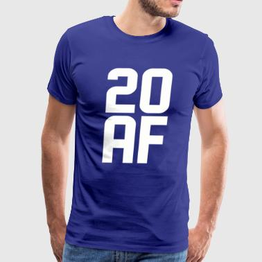 20 AF Years Old - Men's Premium T-Shirt