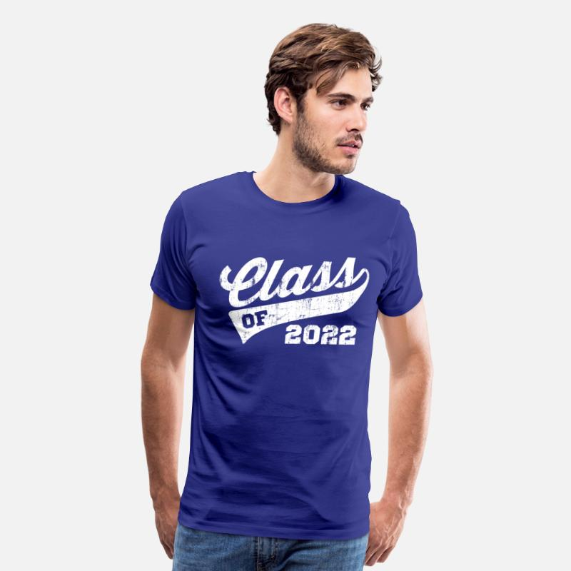 Senior T-Shirts - Class Of 2022 - Men's Premium T-Shirt royal blue