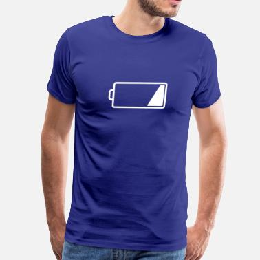 Low Battery Energy Low Charge - Low Battery - Men's Premium T-Shirt