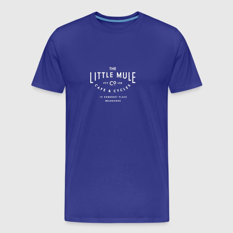 Little Mule Cycle Co & Cafe - American Apparel Tee - Men's Premium T-Shirt