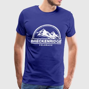 breckenridge colorado - Men's Premium T-Shirt