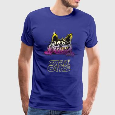 starcats Star cats cat kitty - Men's Premium T-Shirt
