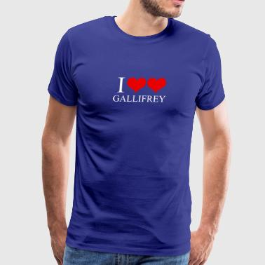 NICE T-SHIRT I Heart Heart Gallifrey - Men's Premium T-Shirt