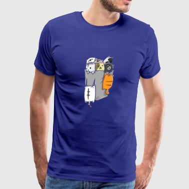 Kittens in a pocket - Men's Premium T-Shirt