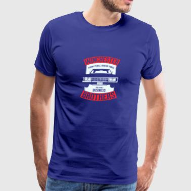 Winchester brothers - Men's Premium T-Shirt