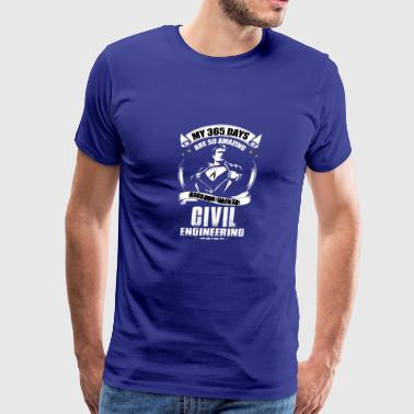 Civil engineering - Men's Premium T-Shirt