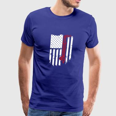 Welding Flag Tshirt - Men's Premium T-Shirt
