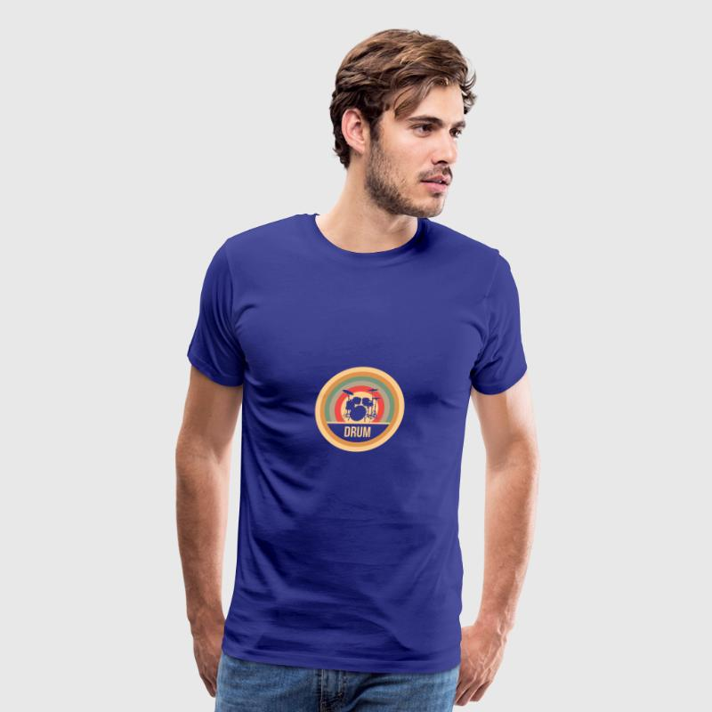 Drum Retro - gift - Men's Premium T-Shirt
