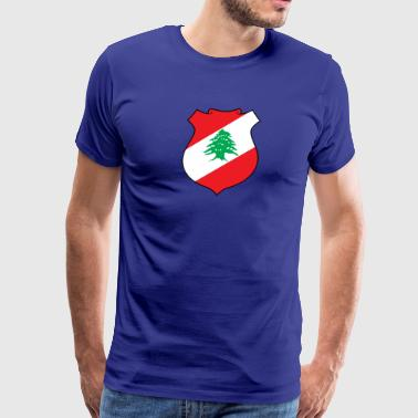 National Coat Of Arms Of Lebanon - Men's Premium T-Shirt