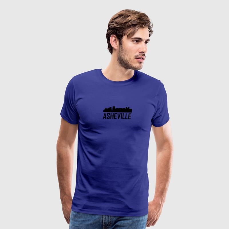 Asheville North Carolina City Skyline - Men's Premium T-Shirt