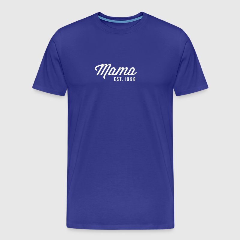 Mama est.1998 - Men's Premium T-Shirt