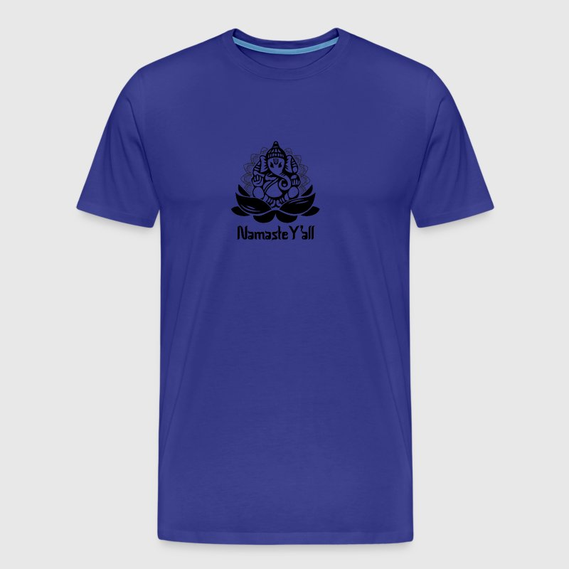 Namaste Elephant. Namaste Y´all - Men's Premium T-Shirt